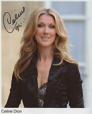 Celine Dion photo w/reproduction signature archival quality, 003