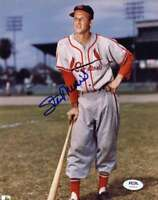 Stan Musial Psa Dna Cardinals Hand Signed 8x10 Photo Autograph