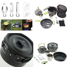 Outdoor Camping Backpacking Cooking Utensils Set Kitchen Hiking Equipment