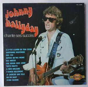 JOHNNY HALLYDAY ♦ RARE  LP 33  KALEIDOSCOPE ♦   CHANTE SES SUCCES