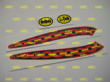 Corgi 107 Batman ( Glastron Late Batboat Stickers ) Stickers - B2G1F