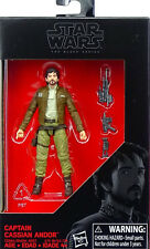 "CAPTAIN CASSIAN ANDOR 3,75"" WALMART EXCLUSIVE STAR WARS THE BLACK SERIES HASBRO"