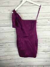 FRENCH CONNECTION One shoulder Dress - Size UK10 - Purple - Great Condition