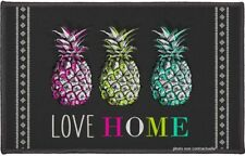 Tapis rectangle 50x80 cm imprimé Love ananas