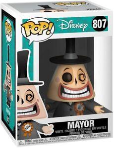 Funko - POP Disney: Nightmare Before Christmas - Mayor w / Megaphone New