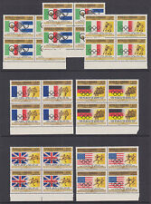 Honduras Sc C429-C435 MNH. 1968 Mexico City Olympics, cplt set of blocks, VF