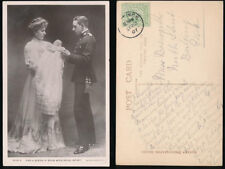 ROYALTY 1907 REAL PHOTO PPC KING + QUEEN of SPAIN + BABY ALFONSO
