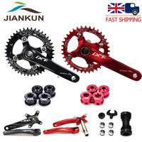MTB Bike 170mm Crank BB Crankset 104bcd Narrow Wide Sigle Chainring set 32T-42T