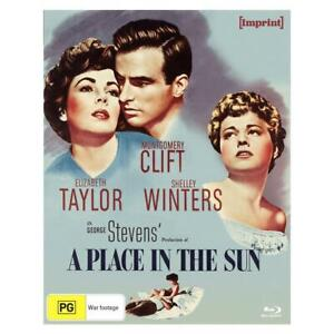 A PLACE IN THE SUN  (Limited Edition)  [Blu Ray] Like New