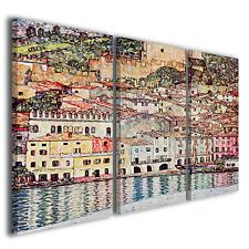 Quadri Gustav Klimt Malcesine sul lago di Garda stampe pittori famosi ® TOP