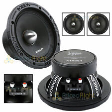 "2 Orion Audio 1400 W Watt 6.5"" Mid Range Bass Loud 4 Ohm Speakers Pair XTX654"