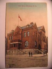 Post Office in Clarksburg WV 1911