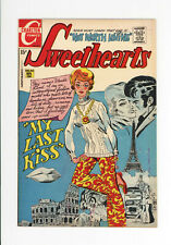 SWEETHEARTS #113 - HIGH GRADE - RARE ISSUE:  NONE ON CGC - GGA COVER 1970
