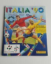 Panini WM Italia 90 World Cup WC 1990 KOMPLETT Album mit allen Sticker!!