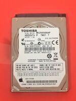 "TOSHIBA 250GB Laptop Hard Drive MK2555GSXF 5400RPM 2.5"""