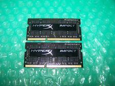 HyperX Impact 8GB (2 x 4GB) 1600MHz PC3L-12800 DDR3L CL9 SODIMM Laptop Memory