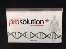 PROSOLUTION PLUS Pills Male Enhancement, Daily Supplement AUTHENTIC FREE S/H