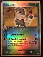 Carte Pokemon CHAPIGNON 16/109 RARE REVERSE Rubis & Saphir Bloc EX FR
