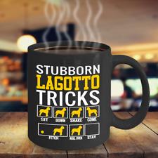 Stubborn Lagotto Tricks Coffee Mug, Lagotto Romagnolo Dog Gifts Accessories