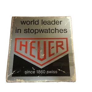 VINTAGE TAG HEUER STOP WATCH 805-301 SPECIAL OLYMPICS MODEL/ORIG.BOX
