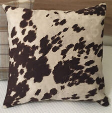 FUN BEDHEADS  Faux Cow Hide Scatter Cushions