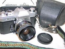 YASHICA FX-2 35mm SLR CAMERA w/Yashica DSB 50mm f1.9 LENS + Yashica Case