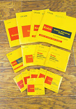 Kodak Wratten Color Printing and Color Compesating Filters Lot of 14!