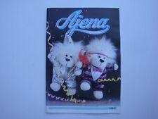 Rare catalogue professionnel Ajena 1983 Fruiti Takara Titi Chan Luxi peluche