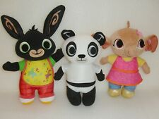 Bing Bunny Pando & Sula Genuine Fisher Price soft plush toys🐰Great Condition🌞