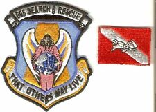 Philippines Air Force PAF 505th Search & Rescue Squadron & SCUBA Qualified Patch