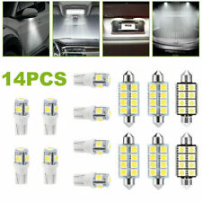 14PCS 12V LED Bulbs Interior Light Package For Car Map Dome License Accessories
