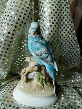 "Beautiful Life Like Lefton China Blue Parakeet 5"" Tall"