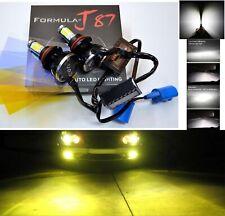 LED Kit G5 80W 9004 HB1 3000K Yellow Head Light Two Bulbs Dual Beam Upgrade
