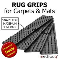 Non Slip MAT & RUG Grips - Slide Anti Skid Carpet Hallway Runner Spikes Grippers