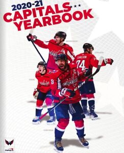 2020-21 WASHINGTONN CAPITALS OFFICIAL YEARBOOK BACKSTROM CARLSON OSHIE OVECHKIN