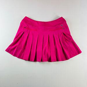 Vineyard Vines Performance Skirt Pink Strerch Pleated Mens Size Medium