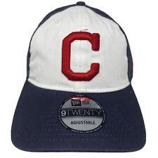 New Era CLEVELAND INDIANS 9Twenty 920 Adjustable Strapback Hat Cap