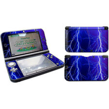 Thunder Lightning Cover- Nintendo 3DS XL (LL) Skin Decal Sticker Vinyl Wrap Set