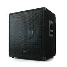 Passiv PA Subwoofer Basslautsprecher Bassbox 38cm Tieftöner 8 Ohm 15 Zoll 600W
