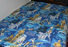 RARE Star Wars 1977 TWIN Bed SHEET, Good Condition, Bright Colors