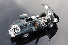 Jaguar D-Type - 24h Le Mans 1955 winner - AUTOart 85586 - 1/18 - Beautiful !!