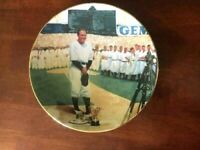 """Delphi Limited Edition """"Lou Gehrig: The Luckiest Man"""" 8 1/4"""" Plate-FREE SHIP"""