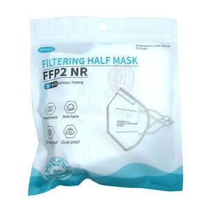 10x FFP2 Atem Schutzmaske Mundschutz Feinstaubmaske Mund-Nasen-Schutz