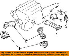 NISSAN OEM 93-96 300ZX-Engine Motor Mount 1122046P00
