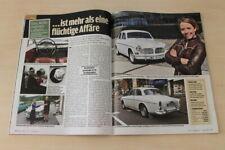 Auto Bild 22971) Volvo Amazon mit 68PS in einer seltenen Vorstellung auf 2 Seite