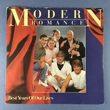 Modern Romance - Best Years Of Our Lives - WEA ROM-1 Ex Condition