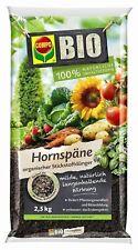 Compo Organic Horn Shavings 2,5 KG Natural Fertilizer Garden Nitrogen Fruit