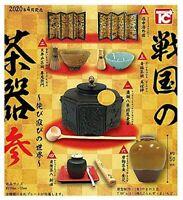 Toys cabin Sengoku Tea 3 of Wabi-Sabi World Gashapon 6set complete mini figure