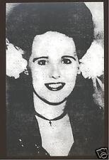 Black Dahlia Elizabeth Short Postcard