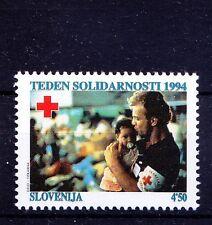 Slovenia 1994 MNH, Red Cross, Health, Nursing Baby, Health